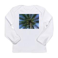 Coconut Palm Long Sleeve Infant T-Shirt