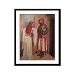 The Shadow Framed Panel Print