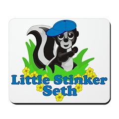Little Stinker Seth Mousepad