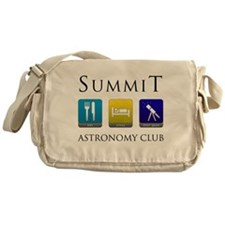 Summit Astronomy Club Canvas Messenger Bag