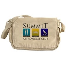 Summit Astronomy Club - Starg Canvas Messenger Bag