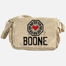 I Heart Boone - LOST Canvas Messenger Bag