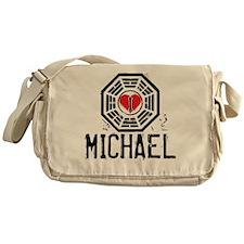 I Heart Michael - LOST Canvas Messenger Bag