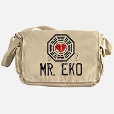 I Heart Mr. Eko - LOST Canvas Messenger Bag