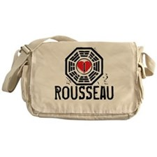 I Heart Rousseau - LOST Canvas Messenger Bag