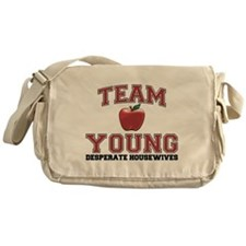 Team Young Canvas Messenger Bag