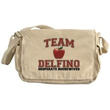 Team Delfino Canvas Messenger Bag