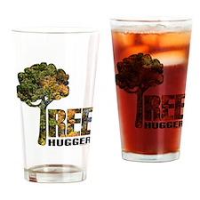 Tree Hugger Drinking Glass