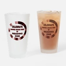 Banned Books Week Drinking Glass