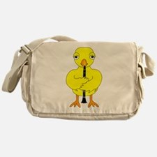 Clarinet Chick Messenger Bag