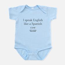 Spanish Cow Infant Bodysuit