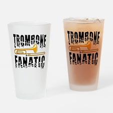 Trombone Fanatic Drinking Glass
