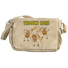 Trombone Rocks Messenger Bag