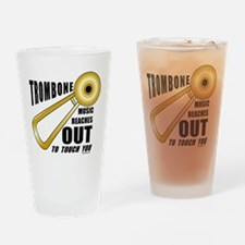 Trombone Touch Drinking Glass