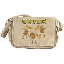 Trumpet Rocks Messenger Bag