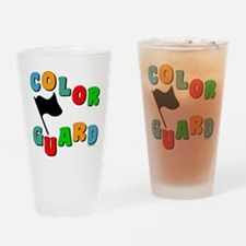 Colorful Guard Drinking Glass
