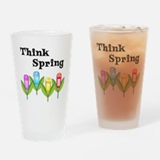 Think Spring GPS Drinking Glass