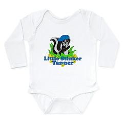 Little Stinker Tanner Long Sleeve Infant Bodysuit