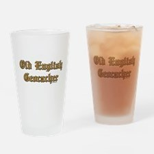 Old English Drinking Glass