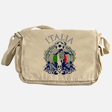 Italia Soccer Canvas Messenger Bag