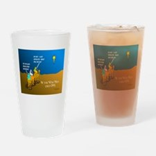 Wise Men Christmas Drinking Glass