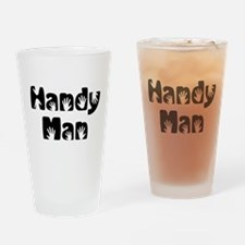 Handy Man Drinking Glass