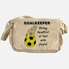Soccer Goalkeeper Messenger Bag
