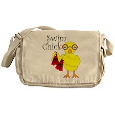 Swim Chick Text Messenger Bag
