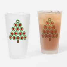 Mechanical Christmas Tree Drinking Glass