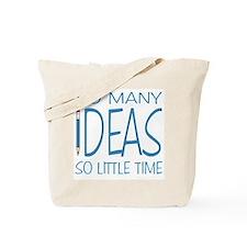 Writing Ideas - Blue Pencil Tote Bag