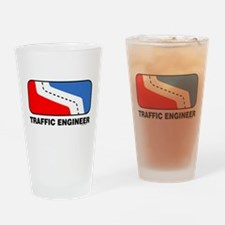 Traffic Engineer Drinking Glass