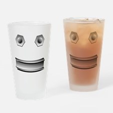 I Beam Face Drinking Glass