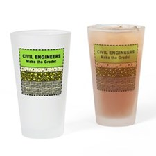 Civil Engineers Drinking Glass