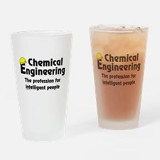Smart Chemical Engineer Drinking Glass