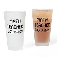 Infinite Wisdom Drinking Glass