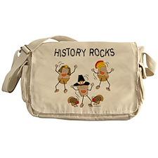 History Rocks Messenger Bag