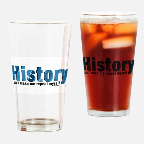 Cute History teacher Drinking Glass