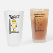 Structural Eggineer Drinking Glass