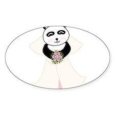 Panda Bride Decal