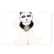 Panda Bride Postcards (Package of 8)