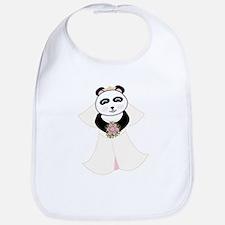 Panda Bride Bib