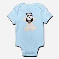 Panda Bride Infant Bodysuit
