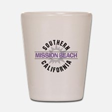 Mission Beach Shot Glass