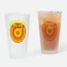 Anxiety Dial on High Drinking Glass