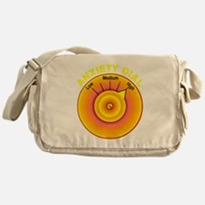 Anxiety Dial on High Messenger Bag
