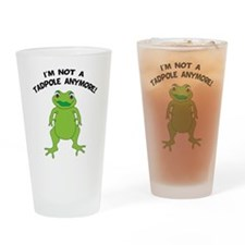 Big Frog Drinking Glass