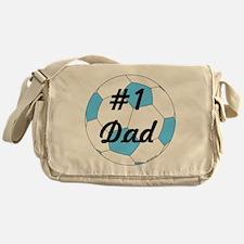 Number One Dad Messenger Bag