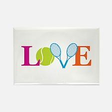 """Love"" Rectangle Magnet"