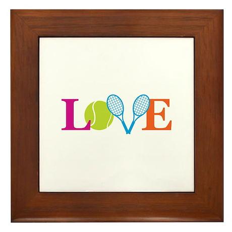 """""""Love"""" Framed Tile"""