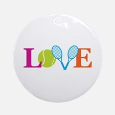 """Love"" Ornament (Round)"